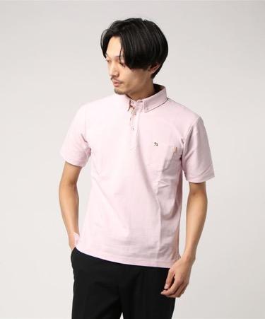ベビーピンク ポロシャツ
