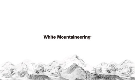 WHITE MOUNTAINEERING ロゴ