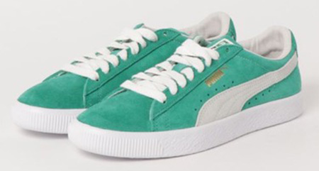 PUMA/SUEDE 90681 KELLY GREEN