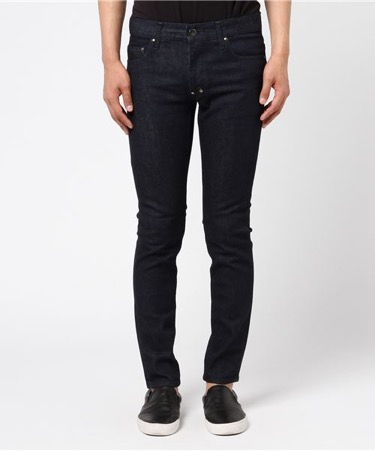Skinny washed denim pants
