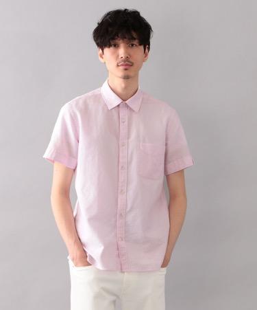 MACKINTOSH PHILOSOPHY/レノクロス セミワイドカラー ショートスリーブシャツ