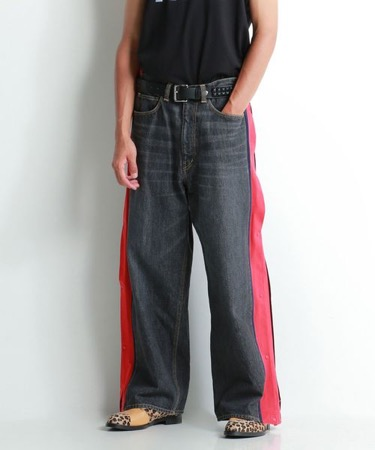 BASKETBALL DENIM PANTS
