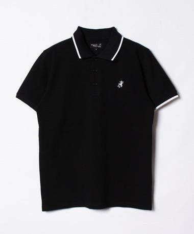 トカゲ刺繍ポロシャツ