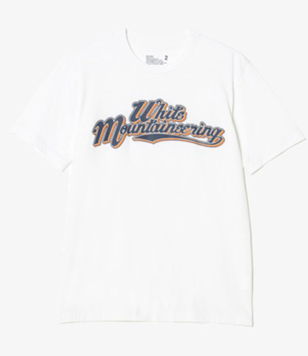 PRINTED T-SHIRT 'TEAM WHITE MOUNTAINEERING'
