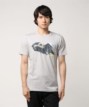 ポスタープリントTシャツ