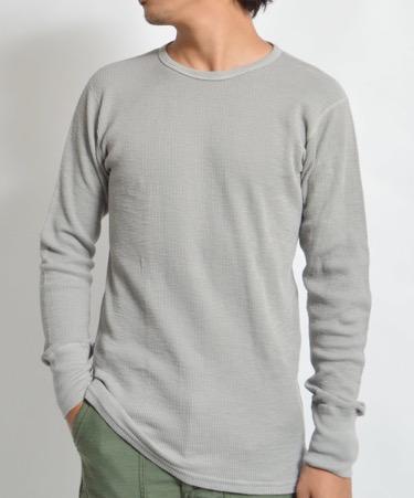 Velva Sheen/1PAC Crew Neck THERMAL Long Pac T-shirt