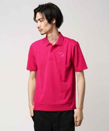 ショッキングピンク ポロシャツ