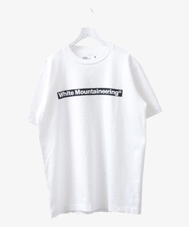 PRINTED T-SHIRT 「WHITE LOGO」