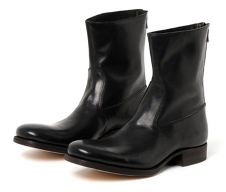 C DIEM/S21MCA01 BACK ZIP MIDDLE BOOTS