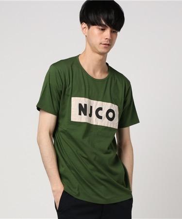 Nudie Jeans/ボックスロゴTシャツ