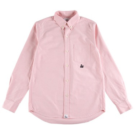 """Sync./【House Industries】L/S OXFORD B.D.SHIRT """"AMPERSAND"""""""