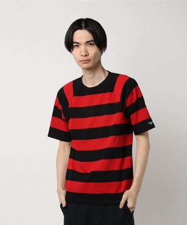 ラグランボーダーTシャツ