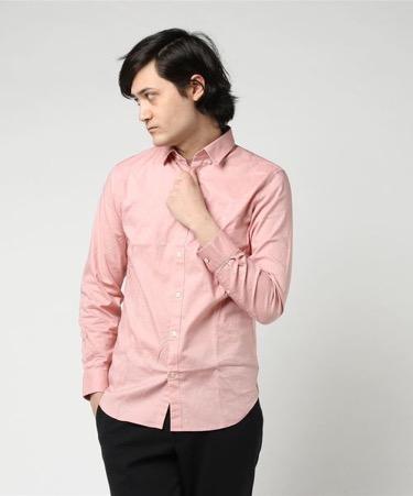 LACOSTE/ストレッチスリムフィットシャツ