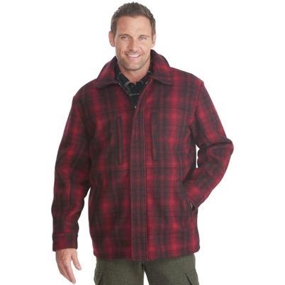 OUTERWEAR赤チェックシャツ