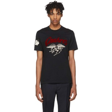 Black 'Creatures' Jersey T-Shir