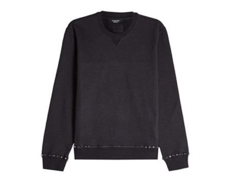 Rockstud Cotton Sweatshirt