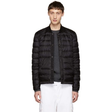 Black Stokenham Down Jacket