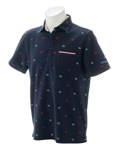 MONOGRAM PRINT POLO SHIRTS