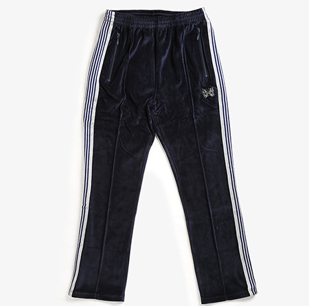 NARROW TRACK PANT - C/PE VELOUR