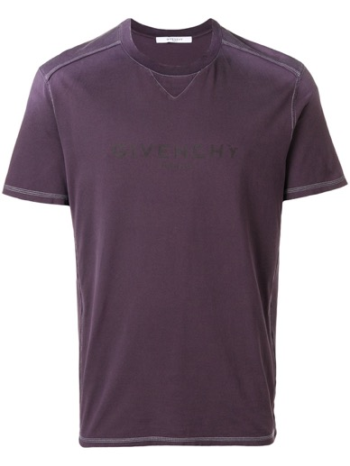 GIVENCHY デストロイ加工 Tシャツ