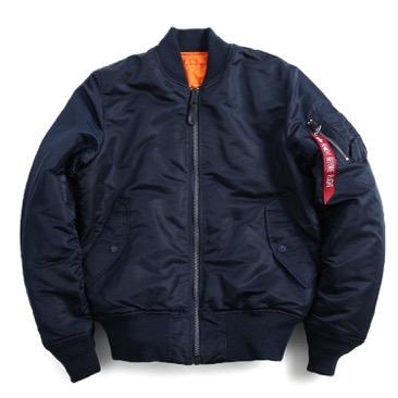 ALPHA/タイトMA-1フライトジャケット