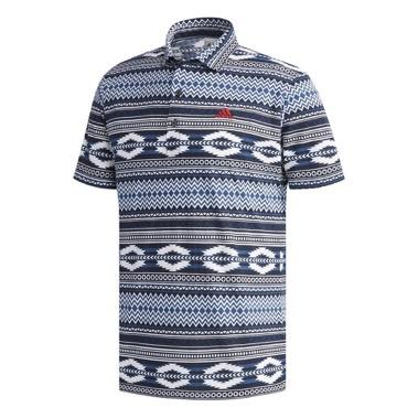 半袖ワイドカラーポロシャツ