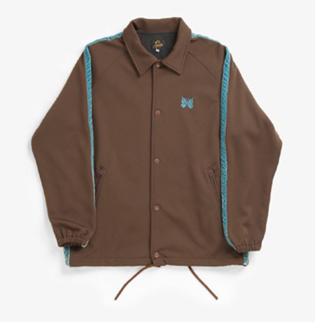 SIDE LINE COACH JACKET - POLY SMOOTH