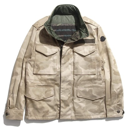 MONCLER/リバーシブルフィールドジャケット