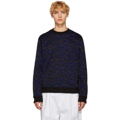 Grey Leopard Classic Sweatshirt