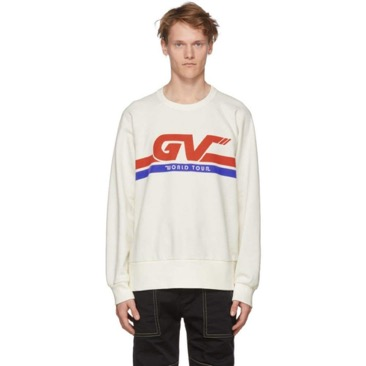 White 'GV World Tour' Sweatshirt