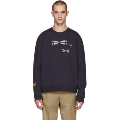 Navy Dragon Fly Sweatshirt