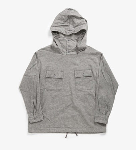 CAGOULE SHIRT - BRUSHED HB