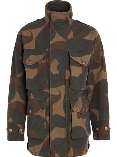 Burberry/カモフラージュフィールドジャケット