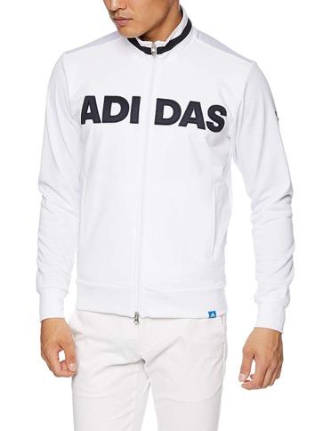 Adicross フロントロゴ L/S フルジップスウェット
