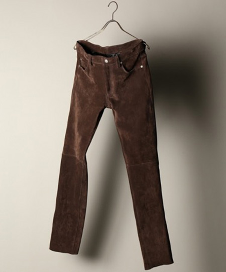 SUEDE JEANS