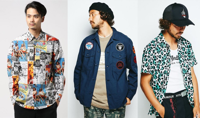 HYSTERIC GLAMOUR シャツ