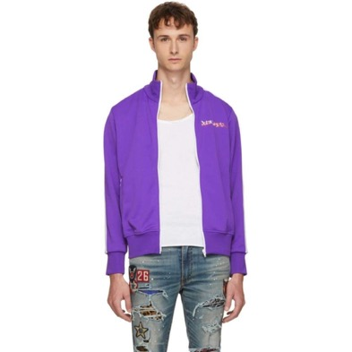 Palm Angels/Purple Playboi Carti Edition 'Die Punk' Track Jacket