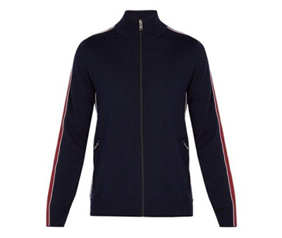 Prada/Virgin wool track jacket
