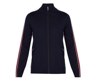 Prada/Virgin wool track jacket