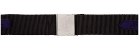 Black Webbing Industrial Belt