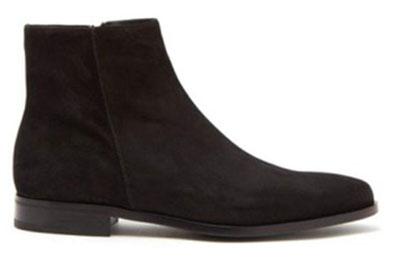 Prada/Suede chelsea boots