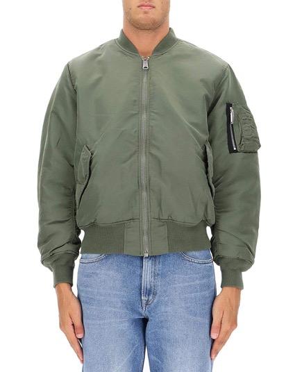 グリーンポリアミドアウタージャケット