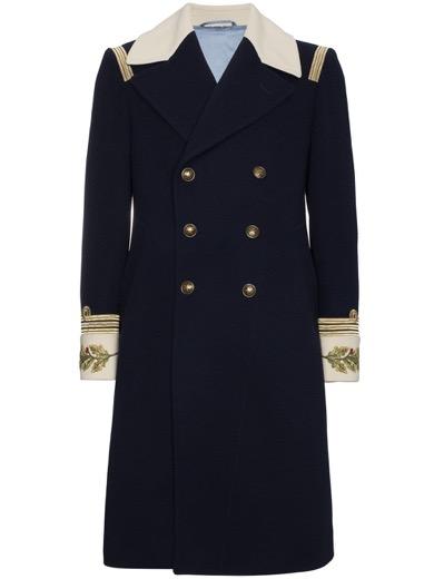 GUCCI/Admiralミリタリーコート