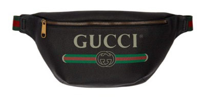 Gucci/Black Medium Logo Belt Pouch