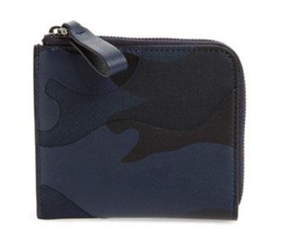 GARAVANI Camo Zip Wallet