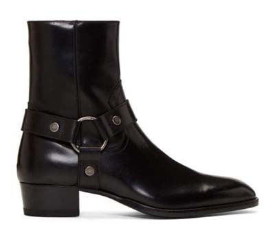 Black Wyatt Harness Boots