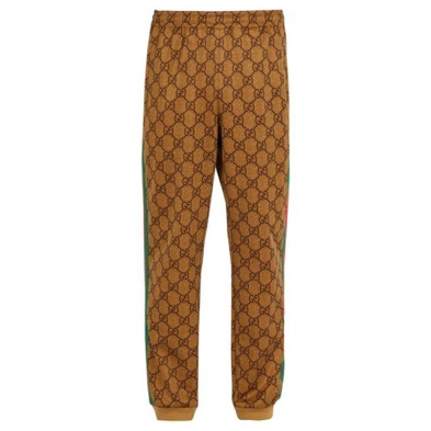 Gucci/GG-print side-stripe track pants