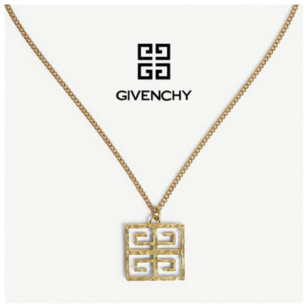GIVENCHY/4Gモノグラム ゴールドネックレス