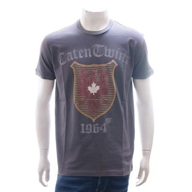CHIC DAN FIT エンブレムプリント半袖Tシャツ