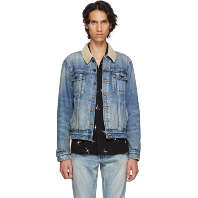 Blue Rusty Denim Jacket